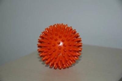 Míč masážní ježek pr. 6 cm - oranžový  - 1