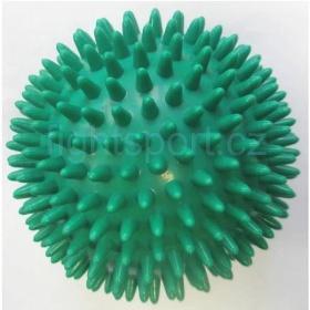 Míč masážní ježek pr. 7 cm - zelený  - 1