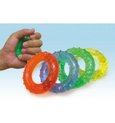 Masážní kroužek pr.7cm tvrdý (zelený)  - 1
