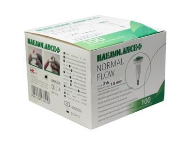 Lanceta Haemolance plus zelená 100ks  - 1