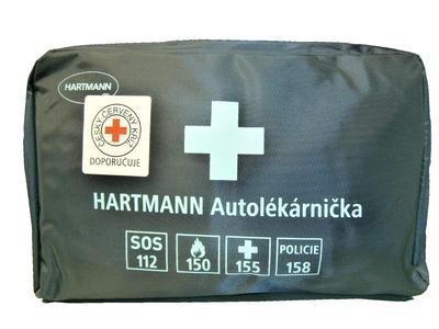 Autolékárnička - nylon. taška (nová dle vyhl. 341/2014 Sb.)