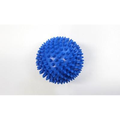 Míč masážní ježek pr. 10 cm - modrý  - 1