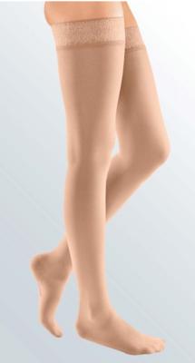 Mediven Elegance-S-punčocha stehenní, vel. 3K, krajka  - 1