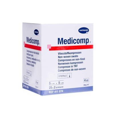 Medicomp ster.  5x5cm - á 25x2ks