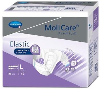 MoliCare ELASTIC 8 kapek L 24ks, fialové  - 1