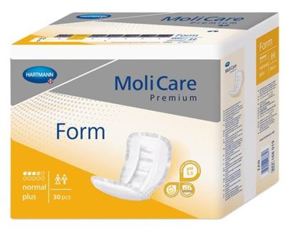 MoliCare Premium FORM Normal Plus 30ks žluté, 4 kapky