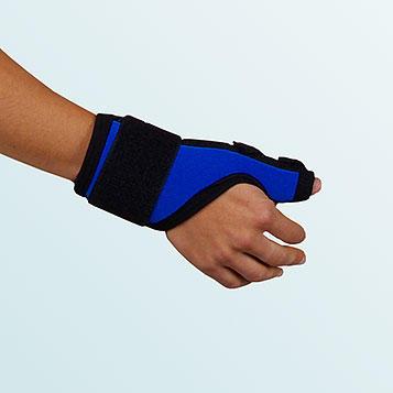 Ortéza palce ruky OR10A s dvěmi dlahami, dlouhá, vel.XL-pravá