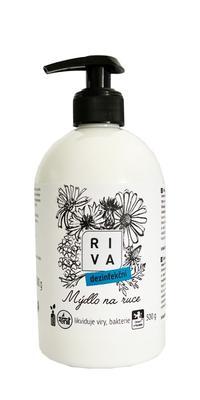Tekuté mýdlo Riva dezinfekční 500g
