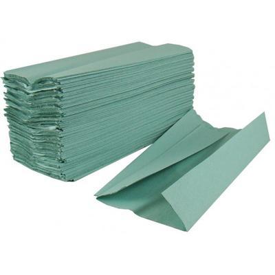 Ručníky skládané, 1vr., zelené (5000ks)