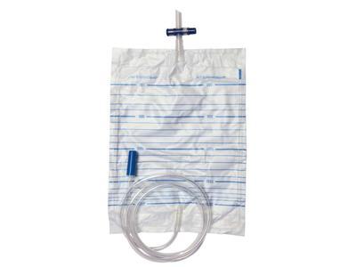 Sáček urinální dolní křížová výpusť, 2 l, sterilní