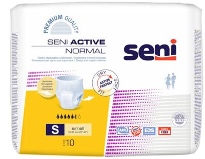 Seni Active NORMAL Small 10ks navlékací k., REF 5131 žluté  - 1