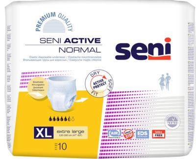 Seni Active NORMAL Extra Large 10ks navl.k., REF 5134 žluté  - 1