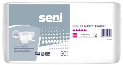 Seni Classic Quatro Medium 30ks plenk. kalhotky, REF 8532  - 1