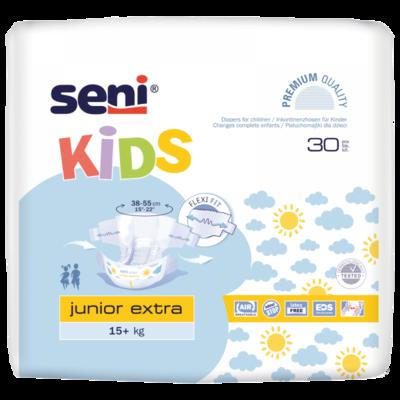 Seni Kids JUNIOR EXTRA 15+kg 30ks, REF 3136  - 1