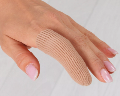 Silipos - návlek na prsty s čepičkou širší - L/XL (2,5x6,5 cm)  - 1