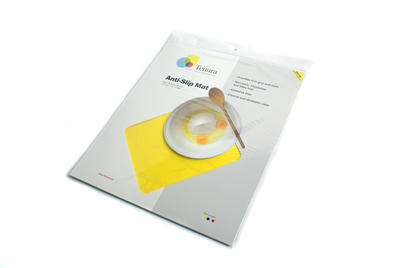 Tenura - obdelníková podložka, 45cm x 38cm, žlutá