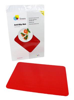 Tenura - obdelníková podložka, 35cm x 25cm, červená