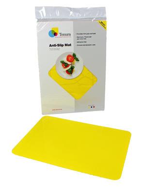 Tenura - obdelníková podložka, 35cm x 25cm, žlutá