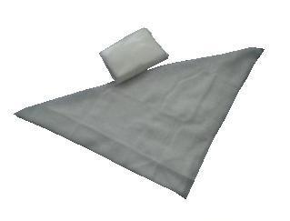 Šátek trojcípý MAXI, tkaný  - 1