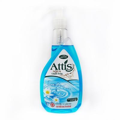 Tekuté mýdlo antibakteriální Attis, 400ml s pumpičkou