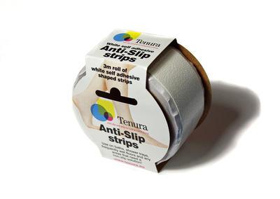 Tenura - bezpečný pásek do vany, bílý