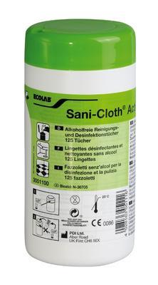 Ubrousky SANI-CLOTH ACTIVE dóza 125ks (130x220mm)