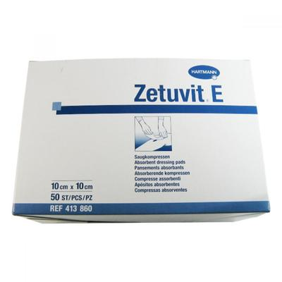 Zetuvit E nest. 10x10cm - 50ks  - 1