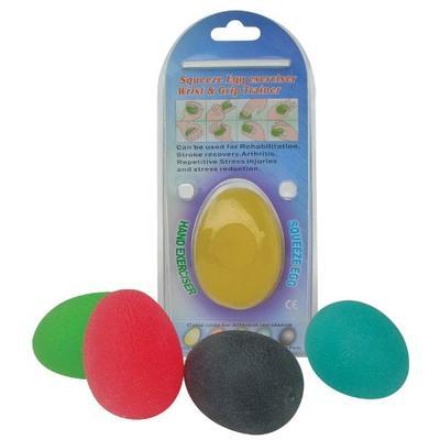 EGG gel vajíčko 6 cm extra měkké (barva žlutá)  - 2