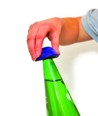 Tenura - otvírač lahví, modrý  - 2