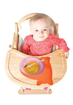 Tenura - dětská podložka na stůl, KOČKA, oranžová  - 2