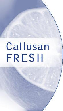 Callusan-FRESH krémová pěna proti pocení, zápachu a plísním, 125 ml  - 2