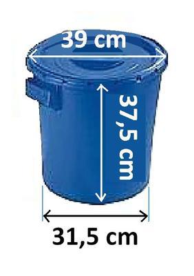 Box na kontaminovaný odpad 30l  - 2