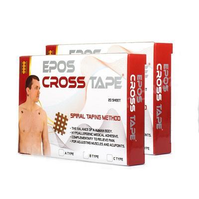 Tejp Crossový Epos - vel. C - 44x52mm - velké (20x2ks)  - 2