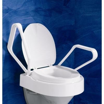 Nástavec na WC Meyra Trilett 440M - nastav.výška, odklop.opěrky, nosnost 130 kg  - 3